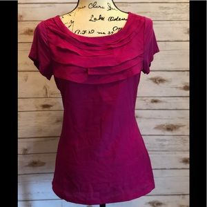 The Limited Fuchsia Blouse